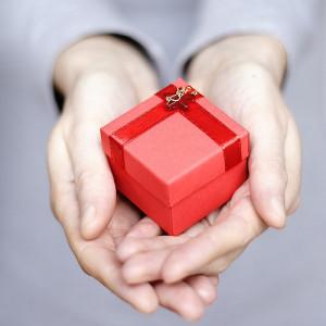 Geschenk unter Geschäftspartnern